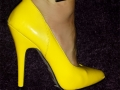 yellow patent leather 1