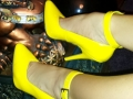 yellow patent leather 2