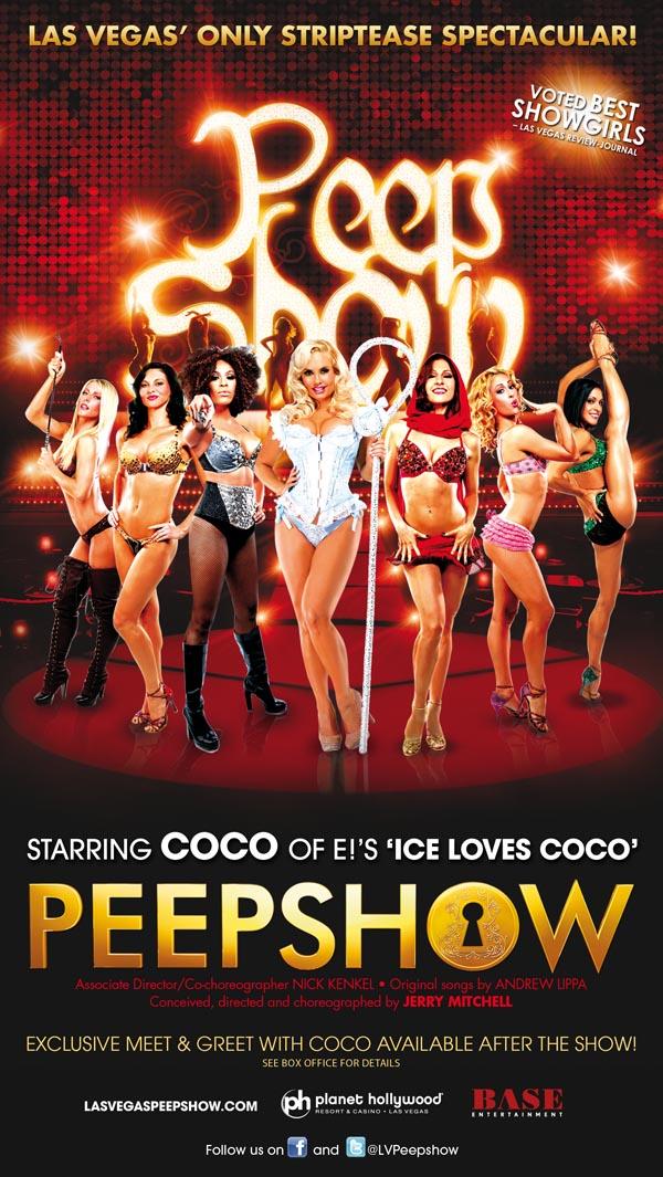 Coco Peep Show Flyer