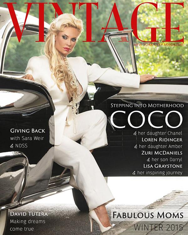 Coco Vintage Magazine Cover